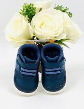 NEW -Stride Rite Baby Boy Sneaker Shoe Size 4 Navy Blue
