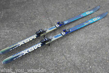 RARE: ELAN MBX MONOBLOCK M16 SKIS - 188cm - TEAMED STRONGBOW WHITE & LEMON WHITE