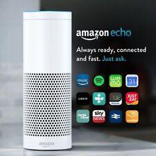 Amazon Echo Smart Speaker with Alexa Voice Recogn. & Control (UK stock) White !!