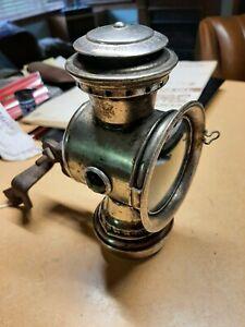 "Antique/Vintage HAWTHORNE ""OLD-SOL"" BICYCLE Kerosene LAMP/LANTERN/LIGHT, 3 Jewel"