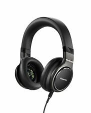 Panasonic Sealed dynamic stereo headphones high-resolution black RP-HD10-K