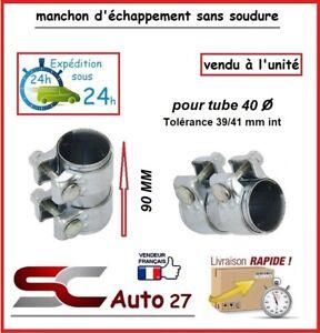 MANCHON CONNECTEUR D' ECHAPPEMENT/RACCORD POUR LIGNE /TUBE 40 mm l'unité AA99064