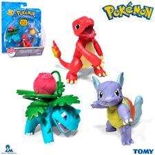 TOMY T18839 Pokemon Ivysaur & Charmeleon & Wartortle Set (3 pc), Figurine