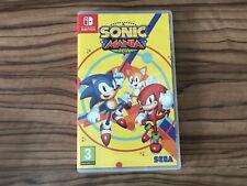 Sonic Mania Plus Nintendo Switch Original Case Only