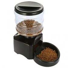 Automatic Pet Feeder with Voice Message Recording and LCD Screen 5.5L or 23 cup