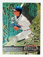 Chipper Jones #31 (1997 Fleer/Skybox Metal Universe) Foil Card, Braves, HOF