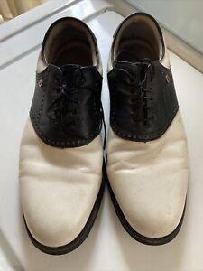 Men's Footjoy Premier Classics Dry Loafers 12D Black And White
