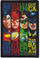 DC Comics Justice League of America Members Banners Embroidered Patch NEW UNUSED