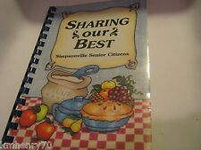 Sharing Our Best Simpsonville Senior Citizens 1994 Cookbook Spiral Free Shipping