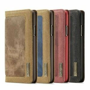 Sony Xperia XZ2 & Compact Jeans Case Bag Cover Leather Synthetic