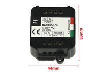 Dalcnet DAC-230-1CH Triac AC Dimmer Taglio Di Fase Con Pulsante N.O. 220V 200W