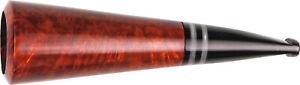Cigar Holder Bruyere Braun / 22-mm-Bohrung / Mouthpiece Acrylic/Cloth Bag