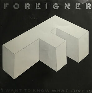 """Foreigner I Want To Know What Love Is 7"""" Vinyl Single Record (1984) A9596"""