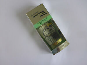 OGX - Nourishing Coconut Milk anti breaking Serum 100ml BNIB Boxed FREE DELIVERY