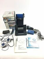Nintendo DS Lite with Charger,stylus, 11games, Headphones, and Carrying case C23