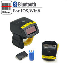 1D Pos Ring Barcode Scanner Bluetooth Wireless Bar code Reader for Ios Android