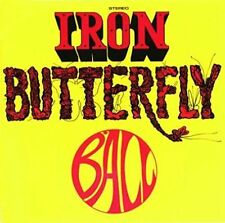 NEW CD Album Iron Butterfly - Ball (Mini LP Style Card Case)