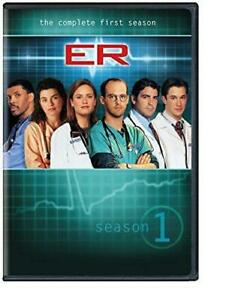 ER - The Complete First Season (DVD, 2011, 7-Disc Set) NEW