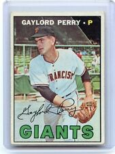 1967 TOPPS BASEBALL #320 GAYLORD PERRY, SAN FRANISCO GIANTS, HOF, 051016