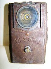 alte Taschenlampe WIF Signal 1135 Wehrmacht WH WK II