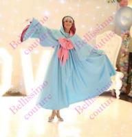 Disney Godmother Costume adult SIZE 6,8,10,12,14,16 Fairy Godmother dress