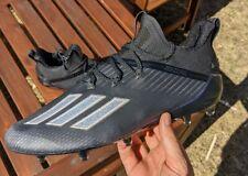 adidas Men's Adizero Sz 11.5 Football Cleat Eh2707 Black silver Metallic 2020