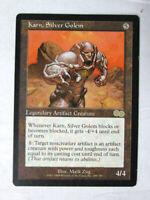 Rare Karn Silver Golem Legendary Artifact Creature MTG Magic The Gathering Card