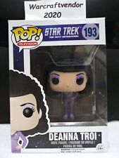 Funko Pop! Television Star Trek The Next Generation #193 Deanna Troi Vaulted