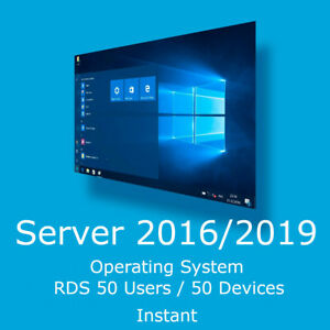 RDS Cals, Server 2016 / 2019 Dаtасеntеr / Stаndаrd / Еssеntiаls ОS