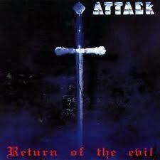 Attack(Ger)- Return Of Evil CD Manowar,Running Wild,Accept,Helloween,Gamma Ray