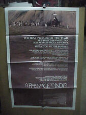 A PASSAGE TO INDIA, nr mint orig review 1-sht / movie poster (David Lean)