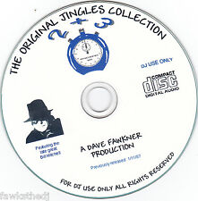RETRO DJ /RADIO JINGLES-BILL MITCHELL DEEP VOICE OVERS - VOLUME's 2 & 3