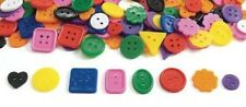 """20 Great Colorful Plastic Buttons 1/2""""- 1"""" Preschool"""
