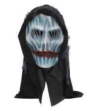Con cappuccio #grim Mietitore spaventosa GHOST Overhead HORROR MASCHERA HALLOWEEN FANCY DRESS