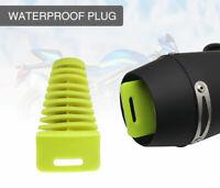 Motorcycle Rubber Plugs Exhaust Pipe Muffler Wash Plug Waterproof For Dirt Bike