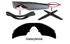 Galaxy Replacement Lenses + Rubber Kits For Oakley M Frame Strike Black Color