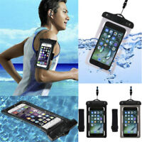 Waterproof Underwater Neck Armband Dry Bag Pouch Case For Mobile Phone Universal