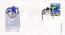 Jugoslawien 1126, Sonderumschlag-European Athletic Cup Zagreb 1965, Sonderstpl.