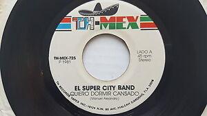 El Super City Bande - Quiero Dormir Cansado 1981 Rare Latin Jazz Pop Soul Aor 7