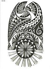 MAORI TEMPORARY TATTOO INDIE BODY ART FAKE REALISTIC SHOULDER TATOO