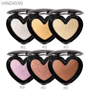 Face Powder Highlighter Bronzer Makeup Contour Palette Powder Glow Cosmetics New