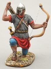 Thomas Gunn Roman Empire Rom020A Archer Kneeling Reloading Silver Helmet Mib