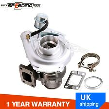 T3/T4 T04E upgraded Turbo Universal T3 Flange A/R .63 V-band Oil Turbocharger