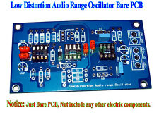 Low Distortion Audio Range Oscillator 1KHz Sine Wave Signal Generator Bare PCB