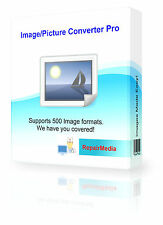 Photo Image Converter Transform Images Pictures Watermark Quality Software DVD