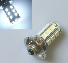 6V DC P26S 24 SMD LED White Motorbike Motorcycle Headlight Bulb Lamp 6000K