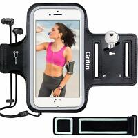 Gritin Running Armband for iPhone 12/12 Pro/SE 2020/11/11 Pro/XS/XR/X,