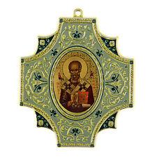 Icone religieuse Saint Nicolas l Thaumaturge Icone Auto adhésive pour la Voiture
