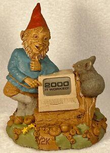 Y2K-R 1998~Tom Clark Gnome~Cairn Studio Item #6359~Edition #42~w/COA & Story