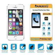 3x PELLICOLA per Apple iPhone 5 5S 5C FRONTE + PANNO PROTETTIVA DISPLAY